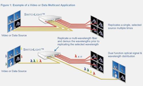 Optical Multicast Diagram