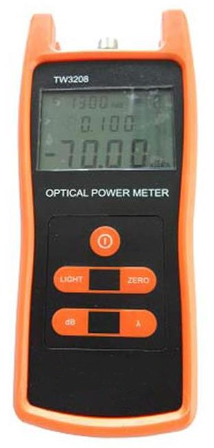 Fiber Optic Power Meter