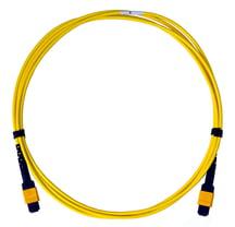 Exact length fiber optic cables